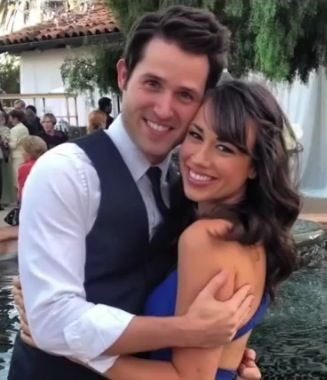 Colleen Ballinger (psychosoprano and mirandasings) with her now fiancé, josh