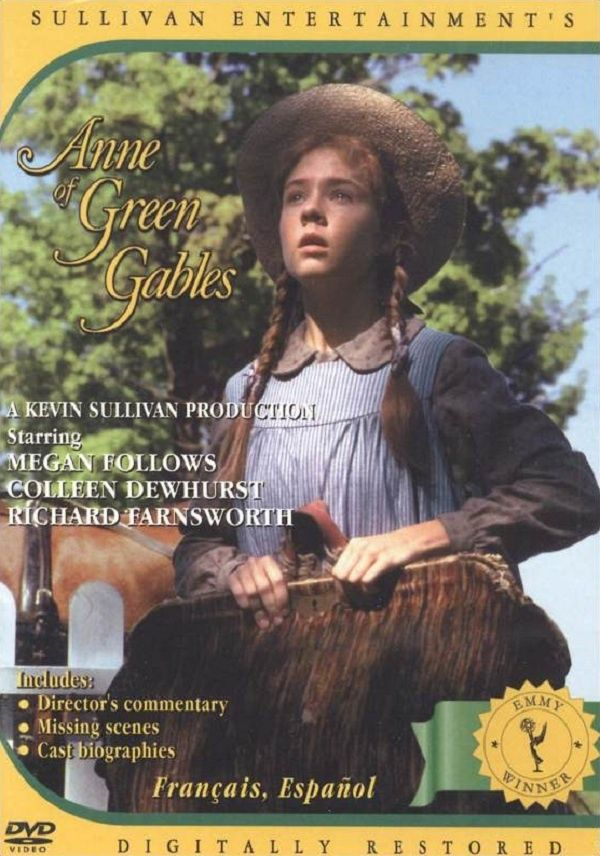 anne of green gables movies - my favorite movie as a child, I used to watch them with my Nana and my cousin