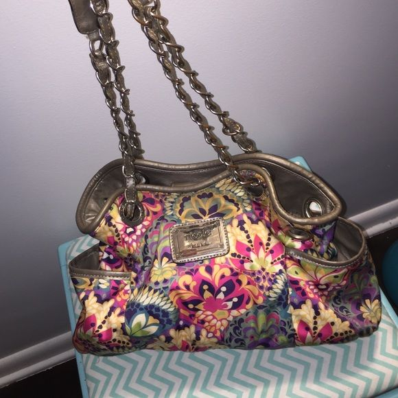 VIDA Statement Bag - Purple Flower by VIDA 5ZwVo