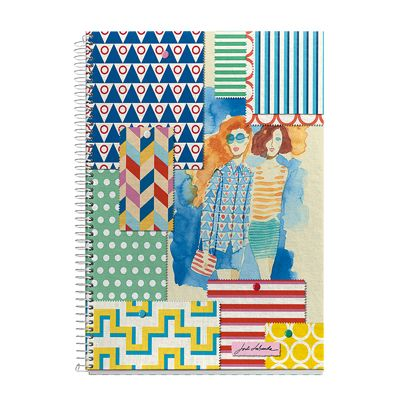 Hipster Prints notebook by Jordi Labanda for MIQUELRIUS