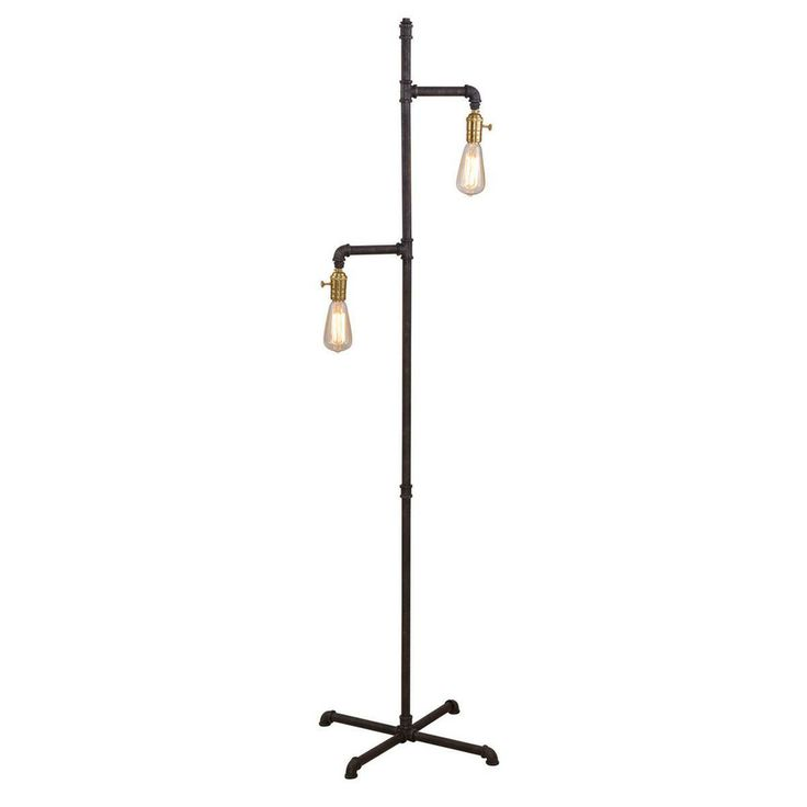 Industrial Pipe Floor Lamp - Shades of Light