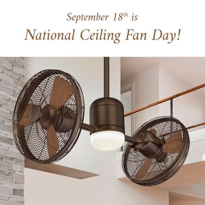Hoah1 Posted To Instagram Today Is National Ceiling Fan Day Browse Our Variety Of Hundreds Of Fans From Ceiling Fan Vintage Ceiling Fans Unique Ceiling Fans