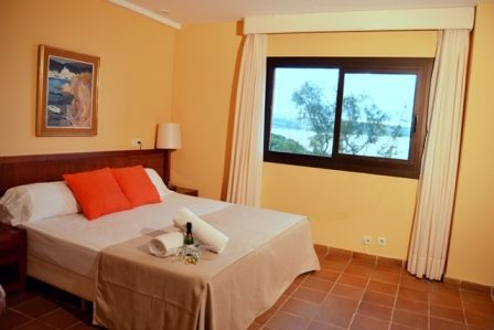 double room at Naturplaya Hotel, Mallorca.