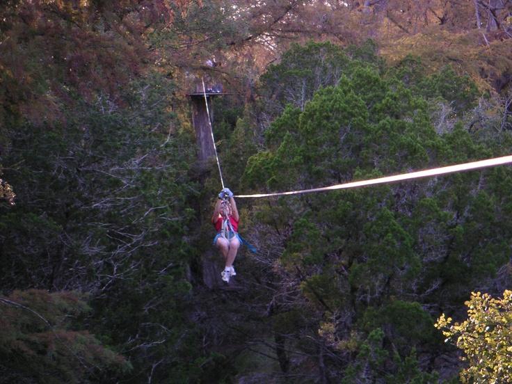 Cypress Valley Zipline Canopy Tour Near Austin Texas