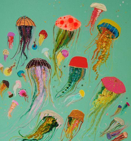 Jellyfish - Eli Halpin Oil Paintings