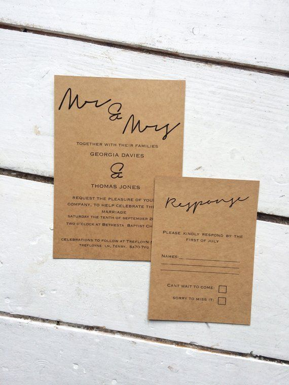 Wedding 101 Your Guide To The Different Types Of Wedding Invitations Wedding Invitations Rustic Wedding Invitation Set Wedding Invitations Rustic