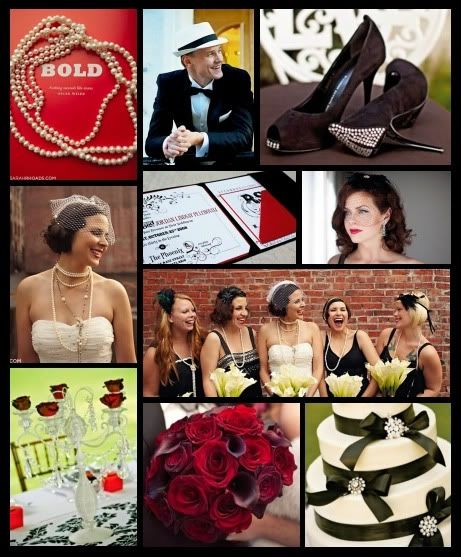 """1930s Wedding Theme 