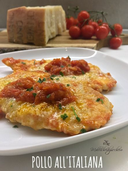 Pollo all'italiana - ricetta veloce -