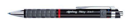 Rotring Tikky 3 in 1 Black .7mm Multi Functional Pen