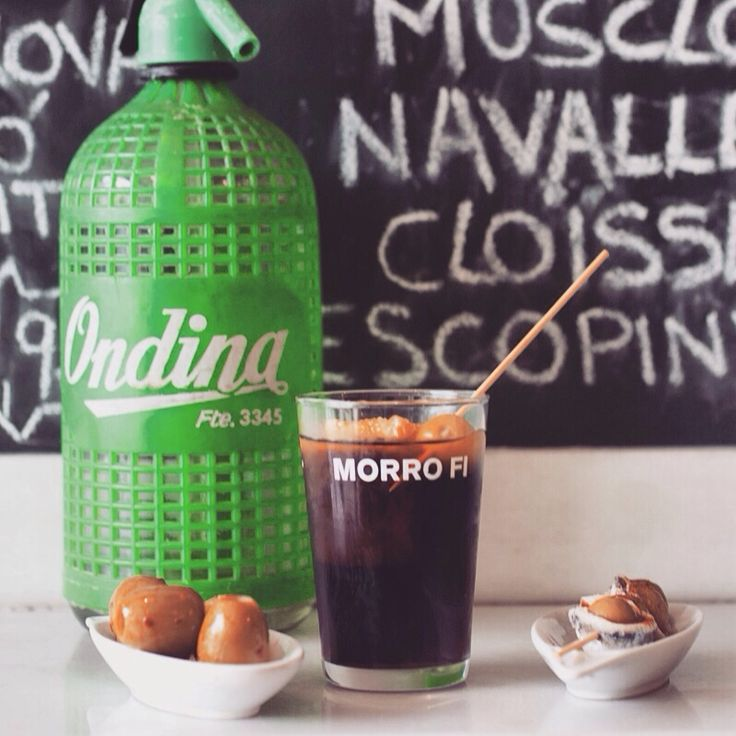 Morro Fi vermut BCN Foodie Guide. Top 5 vermuts de Barcelona