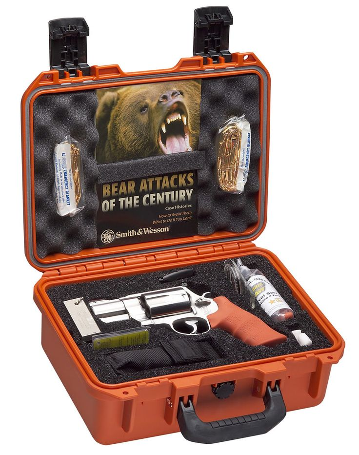 SMITH AND WESSON BEAR ATTACK SURVIVAL KIT