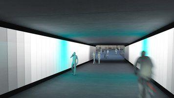 Ny tunnel bliver et kunstværk