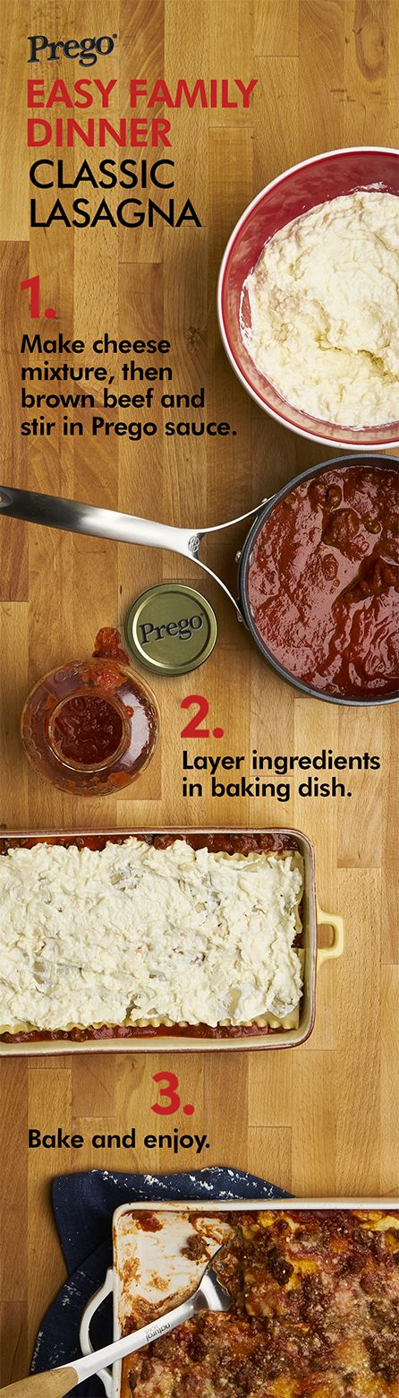 This easy lasagna recipe will bring you a whole lot of applause.