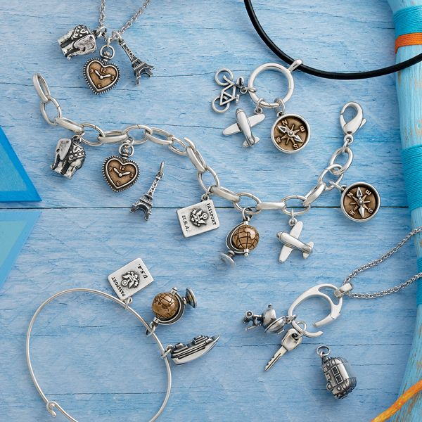 Summer Collection - Five ways to wear your charms #JamesAvery