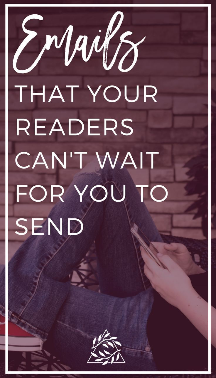 Bloggers and Business  owners. These are the Emails that your readers can't wait for you to send.