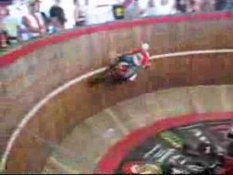 Wall of Death at Full Throttle Saloon