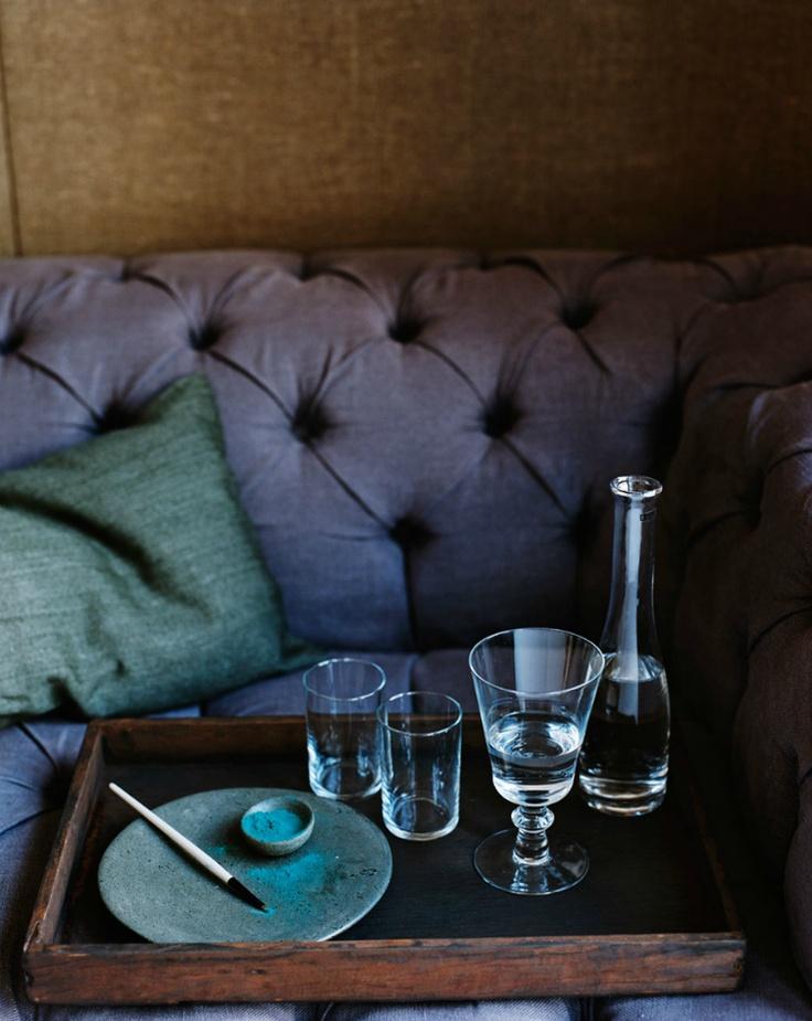 indigo by hilary robertson irresistible indigo pinterest. Black Bedroom Furniture Sets. Home Design Ideas
