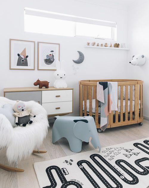 Adore magazine | Pinterest: Natalia Escaño #baby #room