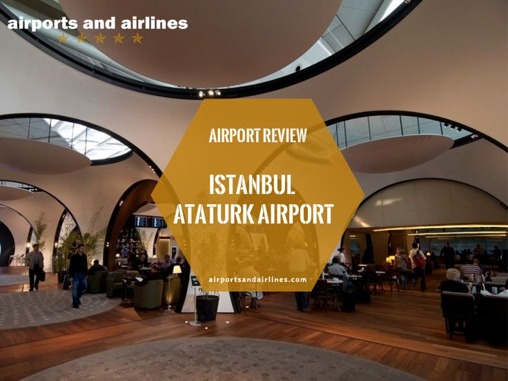 #AirportReview: #Istanbul #AtaturkAirport is the main #airport that serves #Istanbul and is the biggest airport in #Turkey. It is also the global hub for #TurkishAirlines. Although it is one of the busiest airports in the world, there are plans to expand it. Extra security measures have been put in place in light of recent events to ensure the safety of all #passengers seeing that there is an increased terrorist threat.