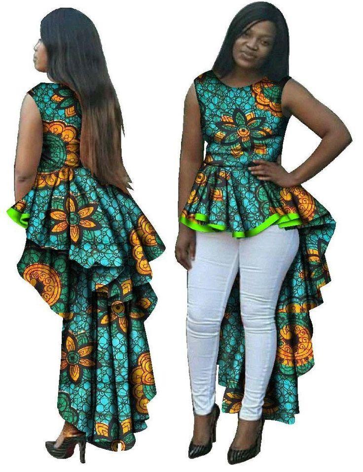 African Women Dress Top, Fashion Dresses, Various Patterns, Plus Size M-6XL