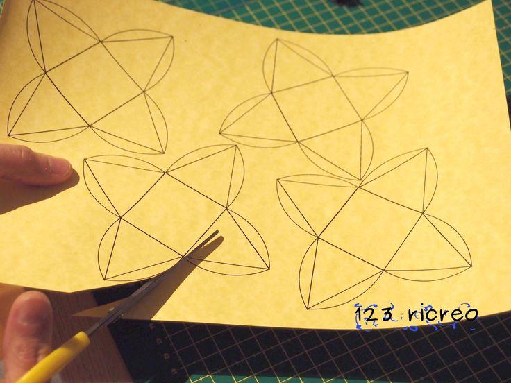Cucire con 123ricreo: Scatole fai da te #pensieri #faidate #bomboniere