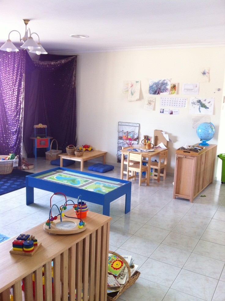 Playroom picture from left