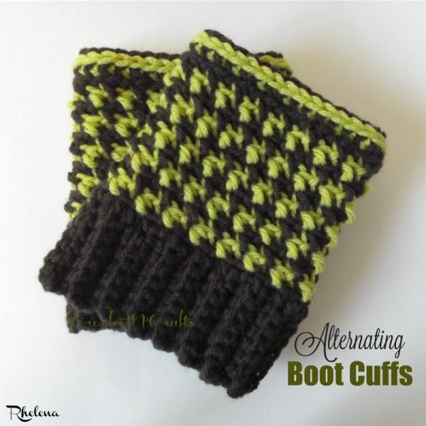 246 mejores imágenes de Crochet Boot Cuffs / Leg Warmers en ...