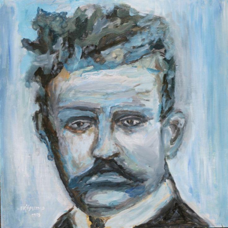 Portrait of Jean Sibelius by Juha-Pekka Ikäheimo http://http://www.ikaheimo.net/ - Thanks!