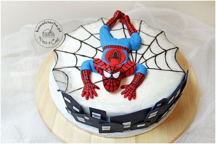 Tort urodzinowy Spider-Man, więcej na stronie bloga: www.pieceacake.pl