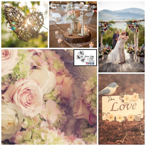 Matrimonio primaverile stile country