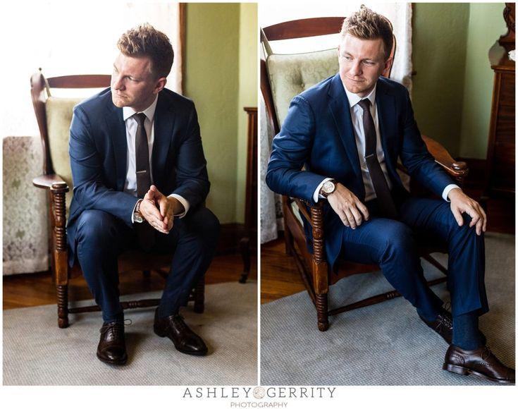 groom, navy suit, groom inspiration, groom portraits, knowlton mansion,