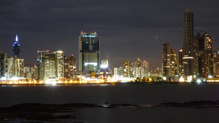 Panama City. Cinta Costera View :)