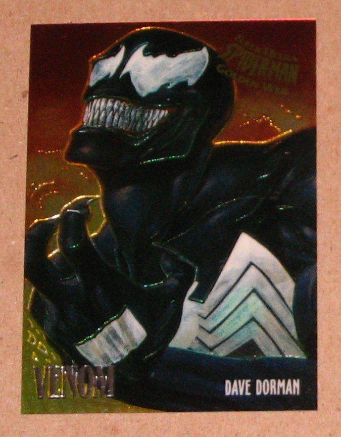 Spider-Man, Fleer Ultra (1995) Golden Web Card #8 Venom EX