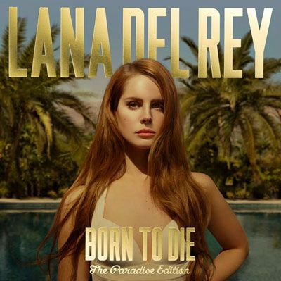 Lana Del Rey : Born to Die- The Paradise Edition album cover photo as seen on http://www.skimbacolifestyle.com/2012/09/listen-lana-del-rey-ride.html