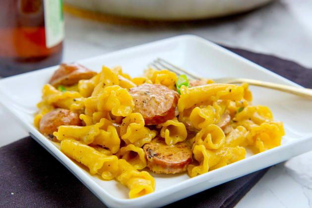 One Pot Cajun Pasta couldn't be easier for a weeknight. Fast, easy, and delicious!
