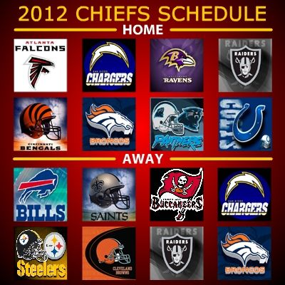 Check out the Chiefs Schedule 2014   The Kansas City Chiefs have a great 2012 schedule including a Monday night game vs. the Pittsburgh St...