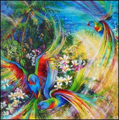 Tropical Abundance - art by Deb Gillett