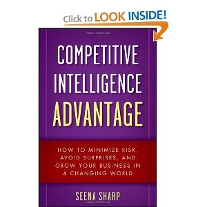 In Competitive Intelligence Advantage, Seena Sharp, founder of one of the first Competitive Intelligence firms in the US, provides her expert analysis on the issues and benefits of CI for today's businesses. CI is critical for making smarter business decisions and reducing risks when formulating strategies, leading to more profits and fewer mistakes.