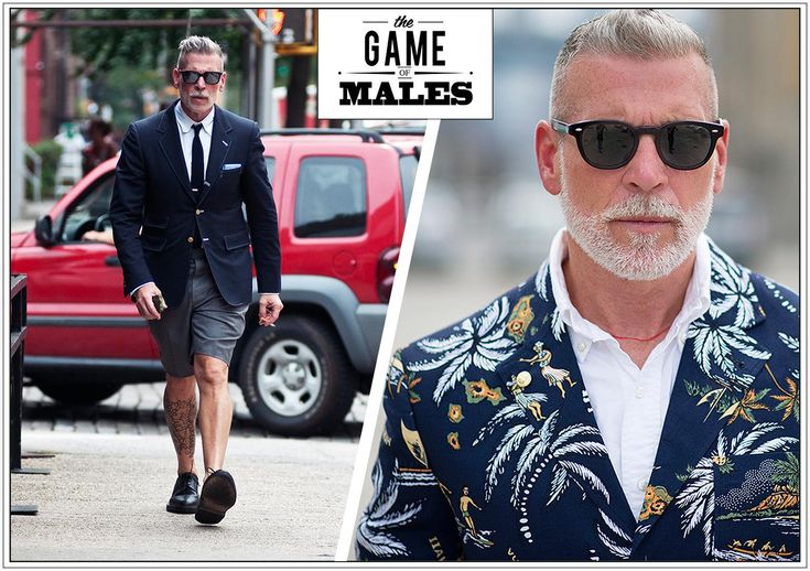 The Game of Males - Nick Wooster  http://www.nssmag.com/it/fashion/4865/the-game-of-males--nick-wooster