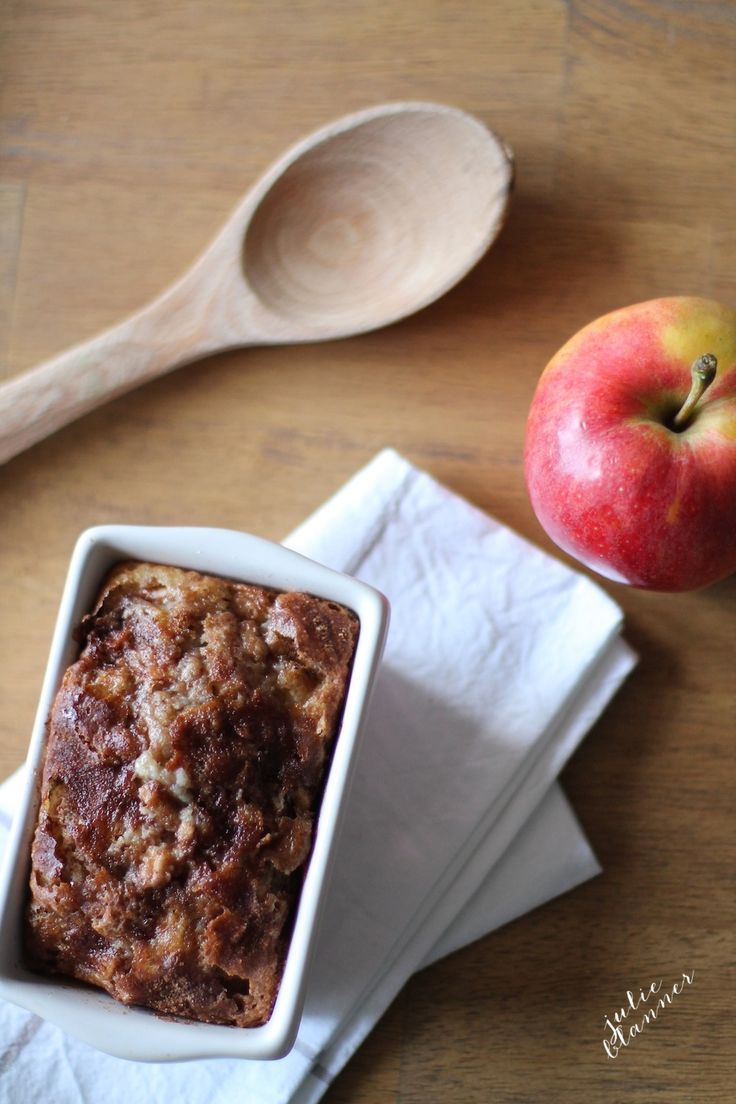 Easy Cinnamon Apple Bread - yields 6 loaves in just 10 minutes! Great for gifting & indulging!
