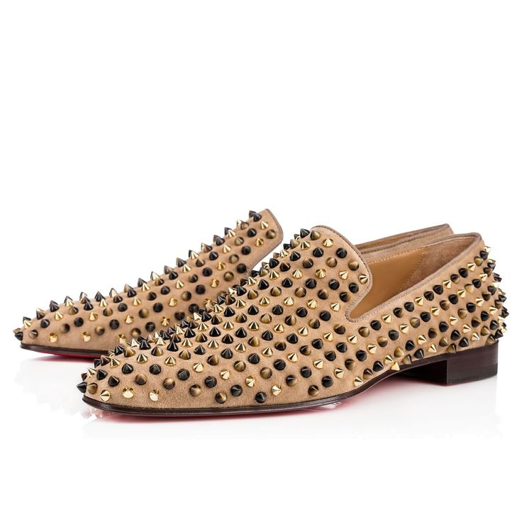 christian louboutin shoes with spikes