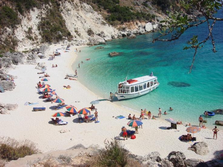 Agiofili Beach, Lefkada Island, Greece
