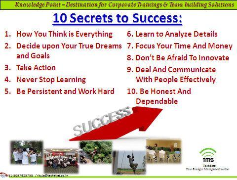 10 Secrets to Success