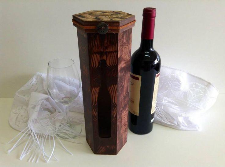 Caixa em mdf para vinhos