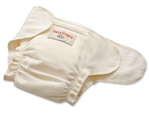 Contour cloth diaper
