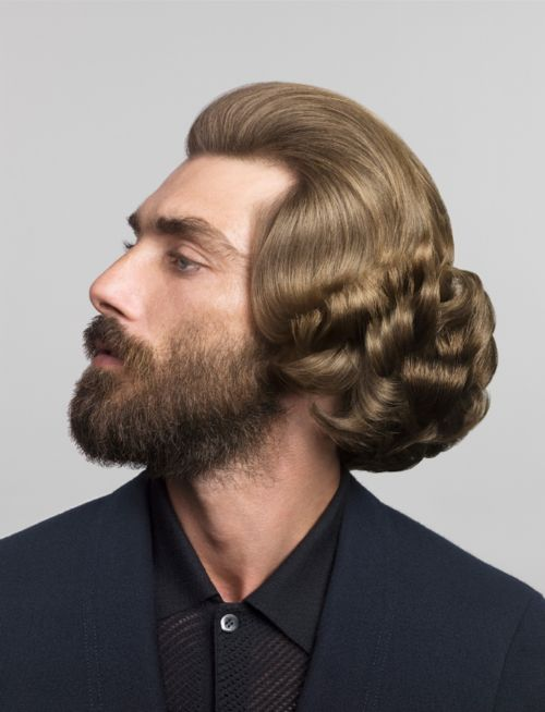 men with updos