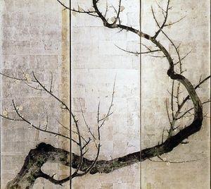 【浮世絵師】酒井抱一 紅白梅図屏風