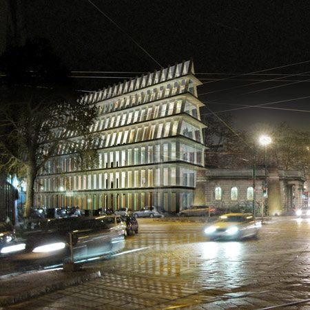 Herzog & de Meuron's plans for a headquarters for the Fondazione Giangiacomo Feltrinelli in Milan