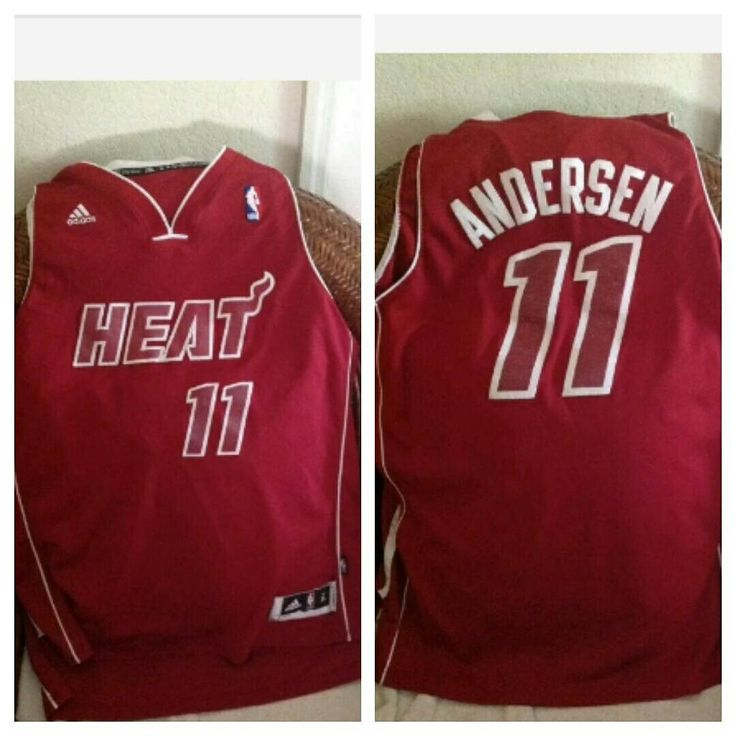 Chris andersen adidas nba jersey #nba #basketball#miami #miamiheat