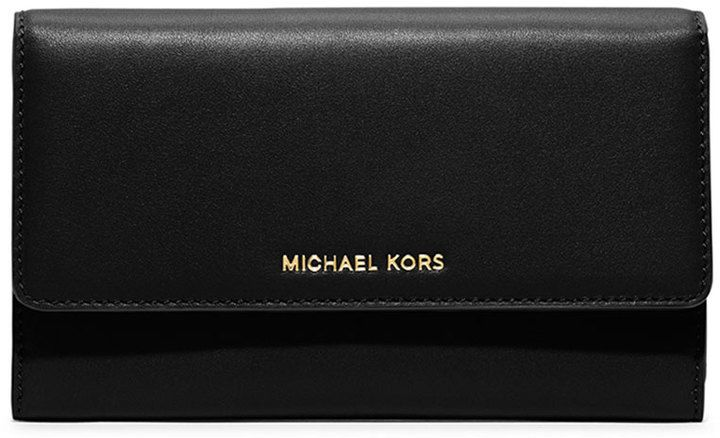 MICHAEL Michael Kors Colby Carryall Clutch Bag, Black on shopstyle.com.au